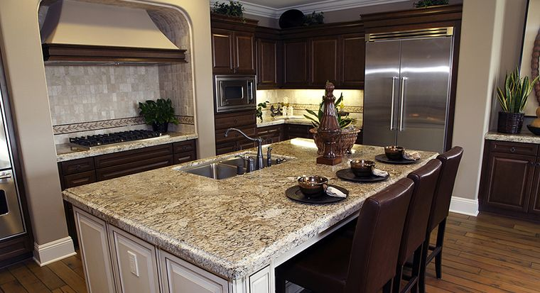 Add Some Convenience With a Kitchen Island